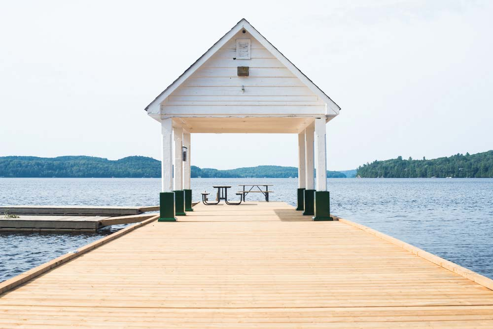 Dock on Lake of Bays, Muskoka